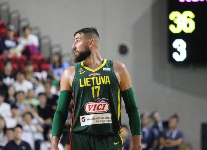 J.Valančiūnas vedė lietuvius į pergalę (Krepšinio namų nuotr.)