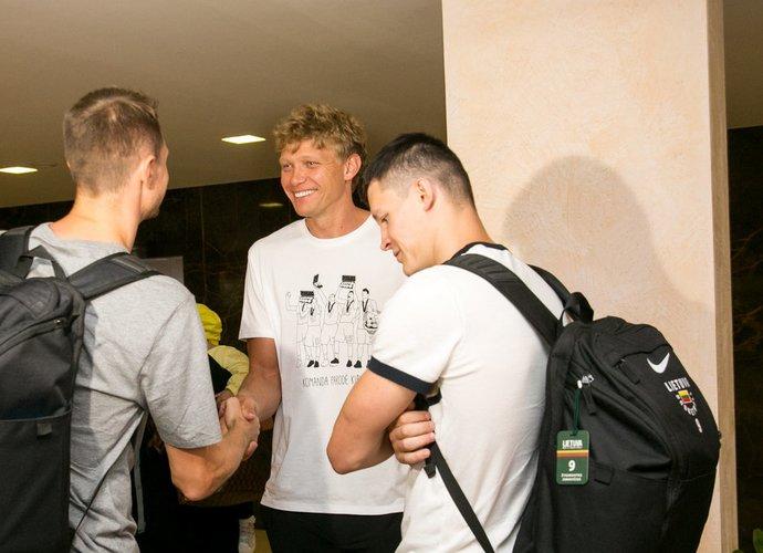 M.Kuzminskas netrukus pasirašys kontraktą su klubu (BNS nuotr.)