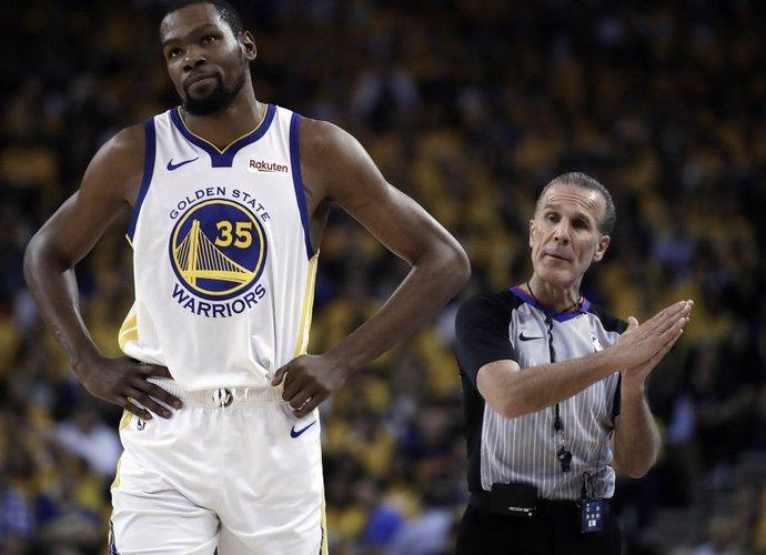 K,Durantas nežino, kada grįš į aikštę (Scanpix nuotr.)
