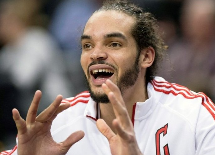J.Noah elgesio NBA netoleravo (Scanpix nuotr.)