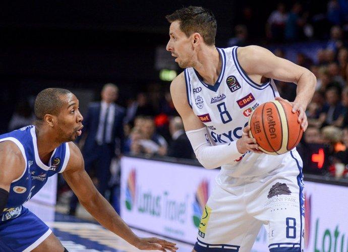 M.Lukauskis yra vyriausias šiuo metu žaidžiantis LKL krepšininkas (BNS nuotr.)