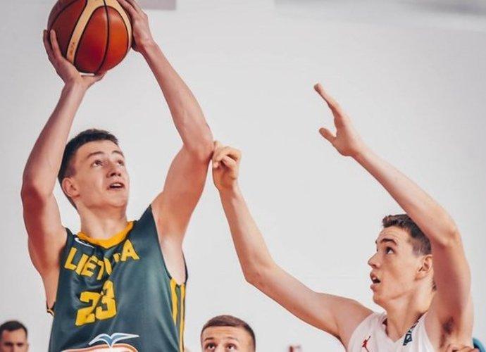 M.Blaževičius surinko 34 naudingumo balus (FIBA Europe nuotr.)