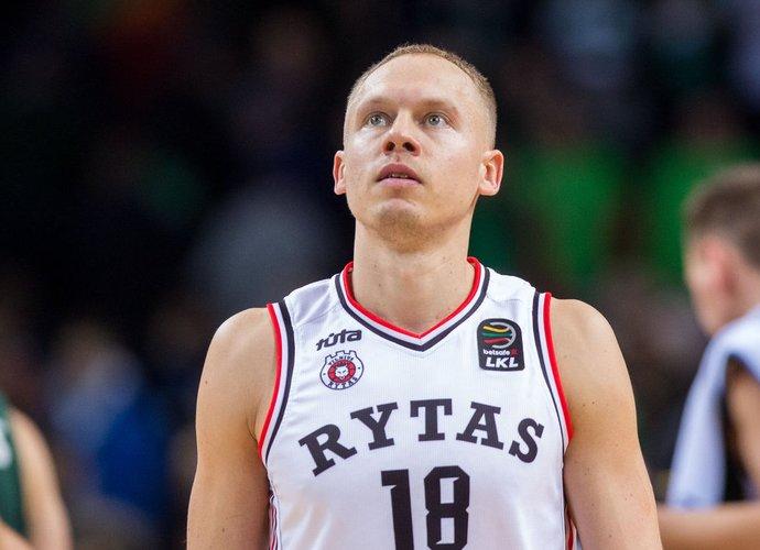 M.Girdžiūnas buvo rezultatyviausias savo komandoje (BNS nuotr.)