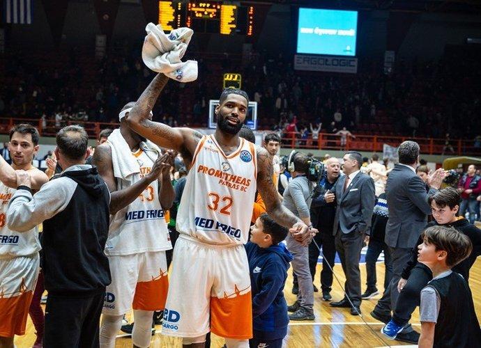 Partų klubas švenčia nelauktą pergalę (FIBA nuotr.)