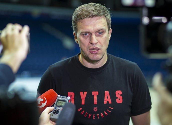 "D.Adomaitis pažymėjo ""Partizan"" universalumą (BNS nuotr.)"