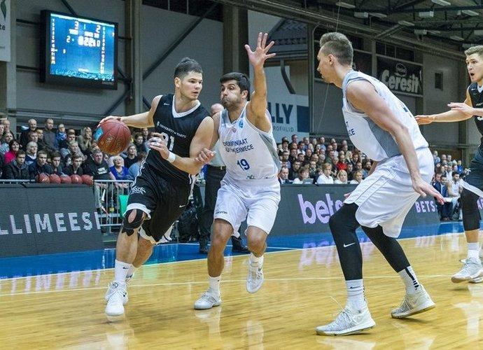V.Čižauskas yra gana ryškus Estijoje (FIBA Europe nuotr.)