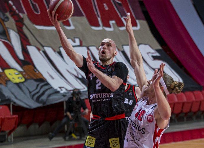 D.Bičkauskis lėmė pergalę tritaškiu (BNS nuotr.)