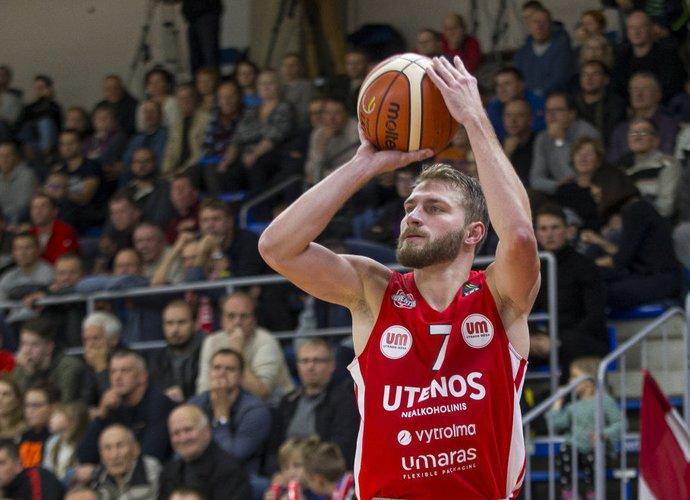 G.Radzevičius tapo savaitės MVP (BNS nuotr.)