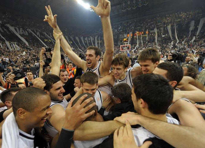 """""""Partizan"""" triumfas (Scanpix)"""