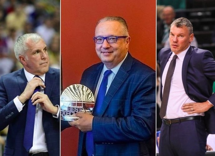 M.Gherardini žavisi Ž.Obradovičiaus ir Š.Jasikevičiaus bičiulyste (Scanpix ir BNS nuotr.)