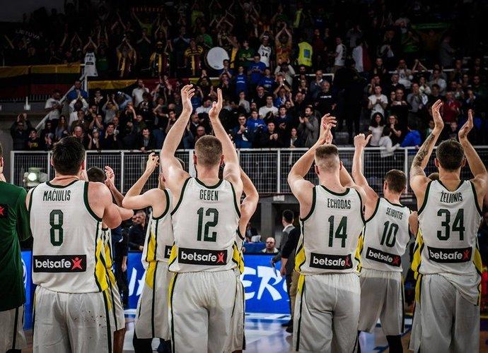 Lietuvos rinktinė baigs atrankos kovas (FIBA Europe nuotr.)