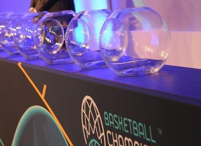 FIBA Čempionų lygoje ištraukti burtai