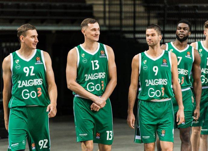 """""""Žalgiris"""", anot pranešimo, vietiniame čempionate neturi konkurencijos (www.zalgiris.lt nuotr.)"""