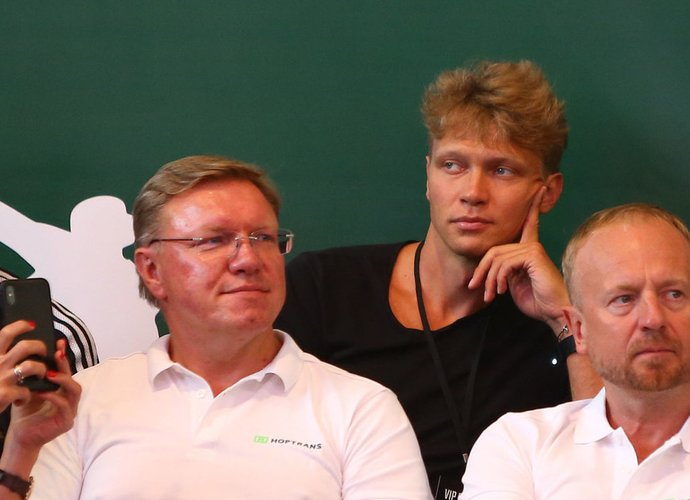 M.Kuzminskas liko patenkintas tuo, ką pamatė (Gintaro Šiupario nuotr.)