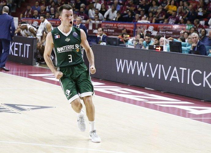 A.Juškevičius dažnai atakavo iš toli (FIBA Europe nuotr.)