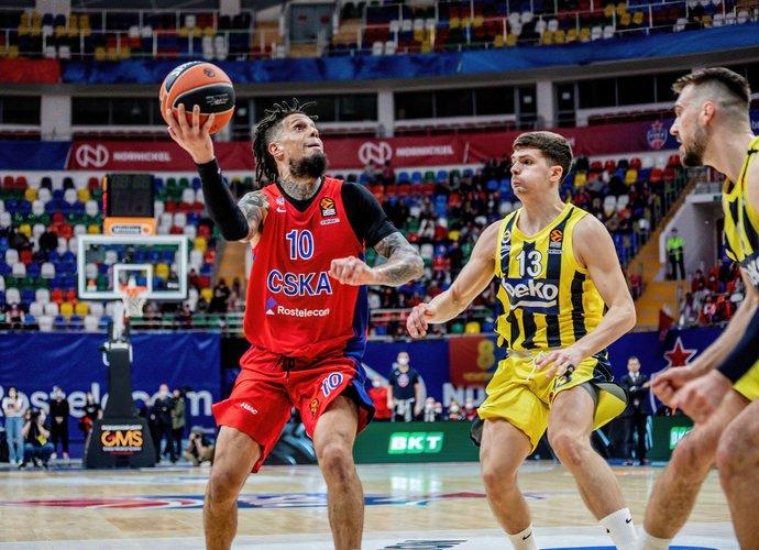 D.Hackettas vedė CSKA į pergalę (Scanpix nuotr.)