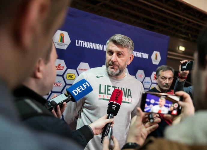 D.Maskoliūnas kalbėjo apie pasiruošimo pradžią (BNS nuotr.)