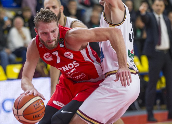 G.Radzevičius pelnė 16 taškų (BNS nuotr.)