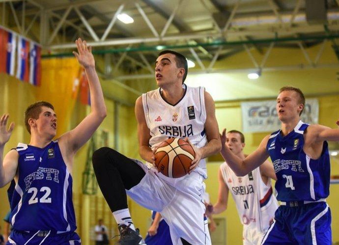 M.Pečarski tarp bendraamžių buvo nesustabdomas (FIBA Europe nuotr.)