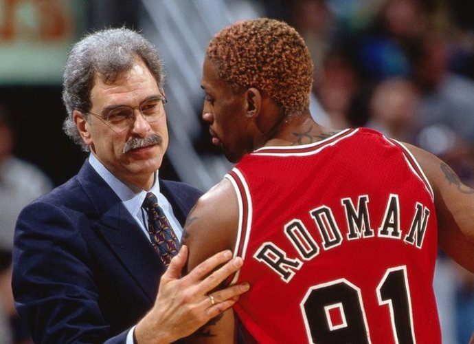 Ph.Jacksonas ir D.Rodmanas kartu iškovojo tris titulus