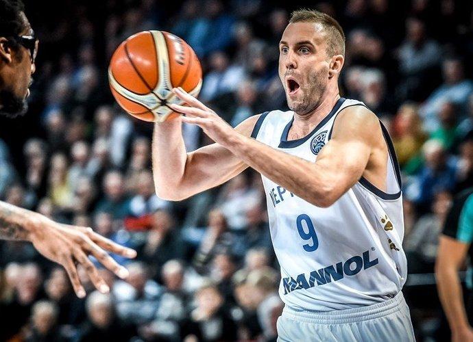 T.Delininkaitis tarp klaipėdiečių buvo rezultatyviausias (FIBA Europe nuotr.)