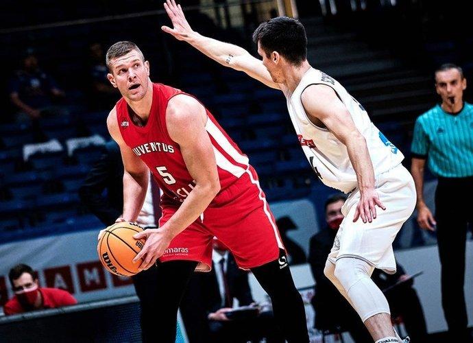 T.Lekūnas buvo Utenos ekipos lyderis (FIBA nuotr.)