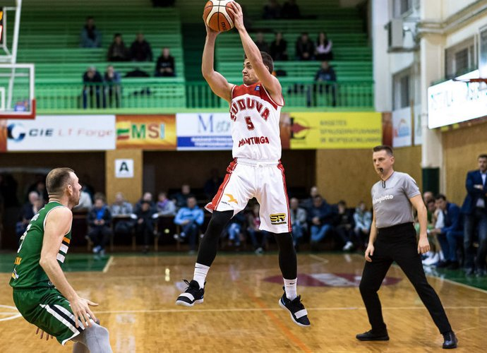 T.Galeckas pelnė 12 taškų (Foto: L.Šilkaitis)
