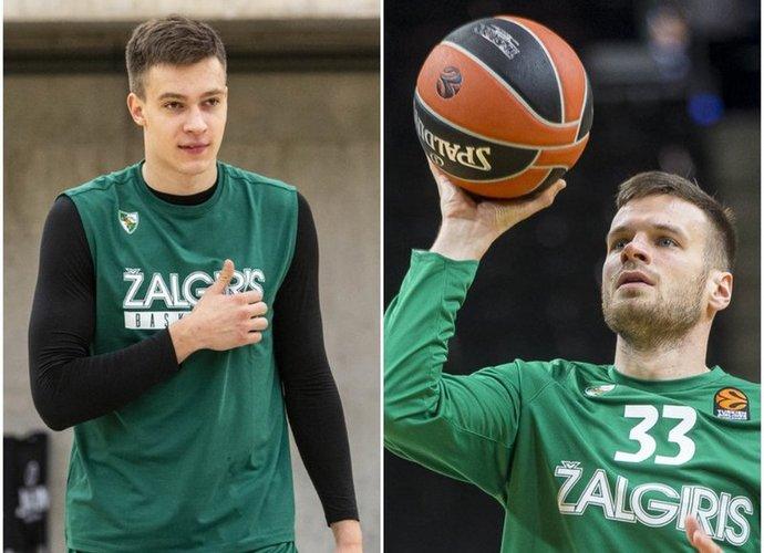 """M.Blaževičiaus ir T.Dimšos gali nebelikti """"Žalgiryje"""" (BNS nuotr.)"""