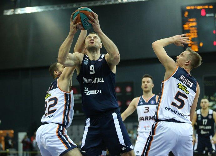 A.Parachovskis palieka Minską (Vtb-league.com nuotr.)