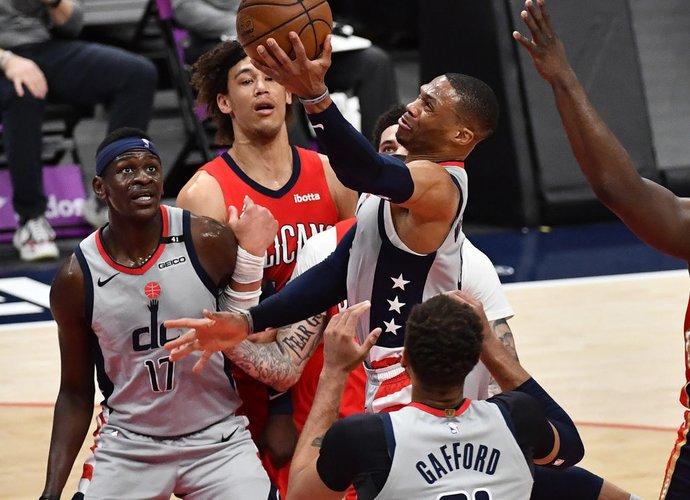 R.Westbrookas įmetė 36 taškus (Scanpix nuotr.)