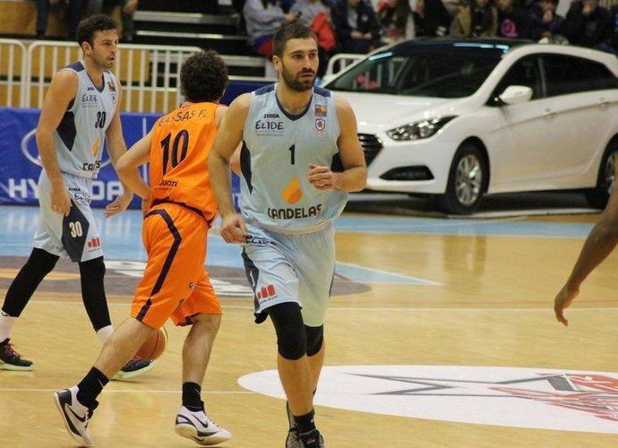 O.Matulionis tapo Ispanijos antrosios lygos savaitės žaidėju