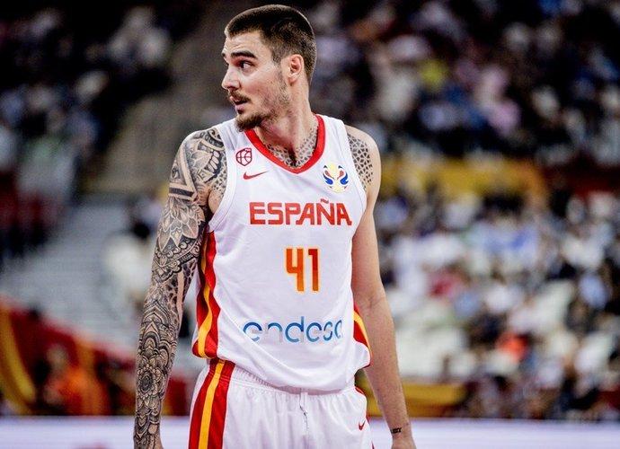 J.Hernangomezas ispanams nepadės (FIBA nuotr.)