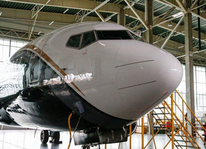 """""""Žalgirį"""" skraidinęs lėktuvas buvo arti tragedijos (BNS nuotr.)"""
