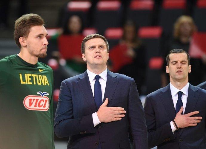 """""""Rytas"""" ima labai panašėti į FIBA """"languose"""" žaidusią Lietuvos rinktinę (Rokas Lukoševičius, Fotodiena.lt)"""