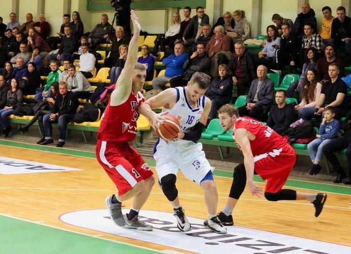 V.Vasylius iš karto tapo kertine komandos figūra (D.Stankevičiūtės nuotr.)