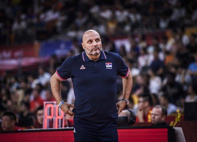A.Džordževičius papasakojo, ką jam pasakė kolega (FIBA nuotr.)