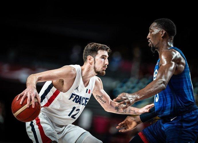 N.De Colo su prancūzų rinktine nugalėjo JAV (FIBA nuotr.)