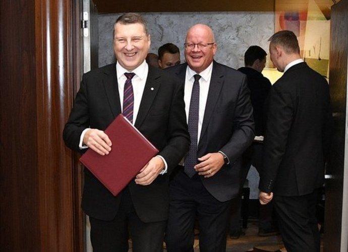 R.Vėjonis vadovaus Latvijos krepšiniui