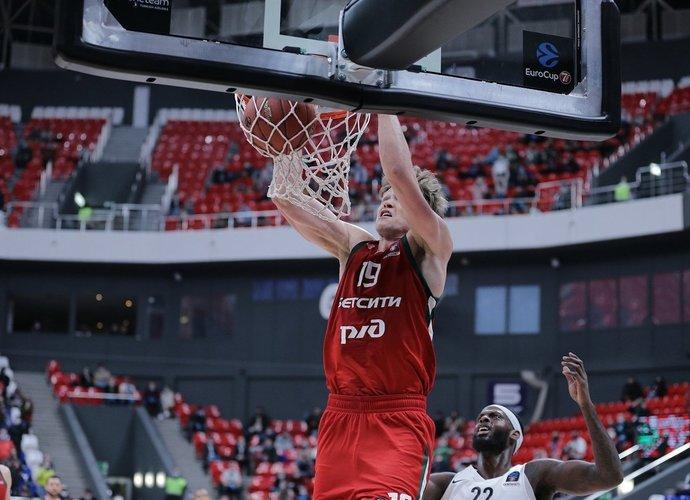 M.Kuzminskas tapo geriausiu turo žaidėju (Euroleague.net)