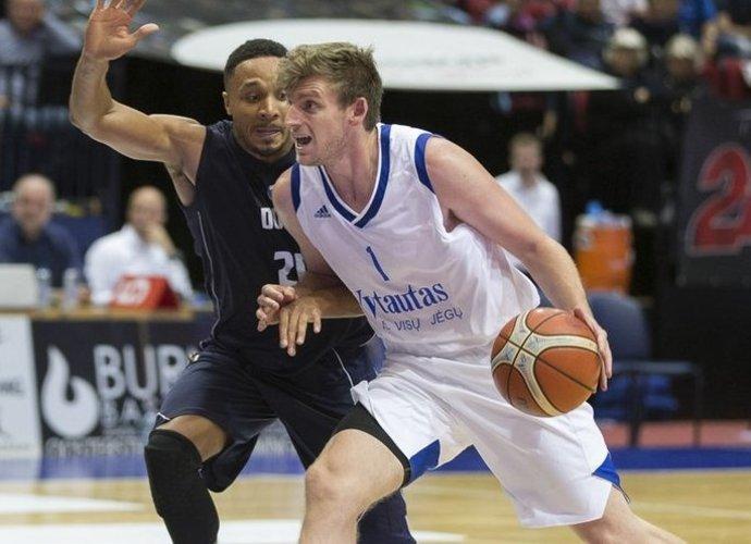 B.Tinsley išvyksta (FIBA Europe nuotr.)