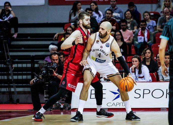 Ž.Šakičiaus indėlio pergalei neužteko (FIBA Europe nuotr.)