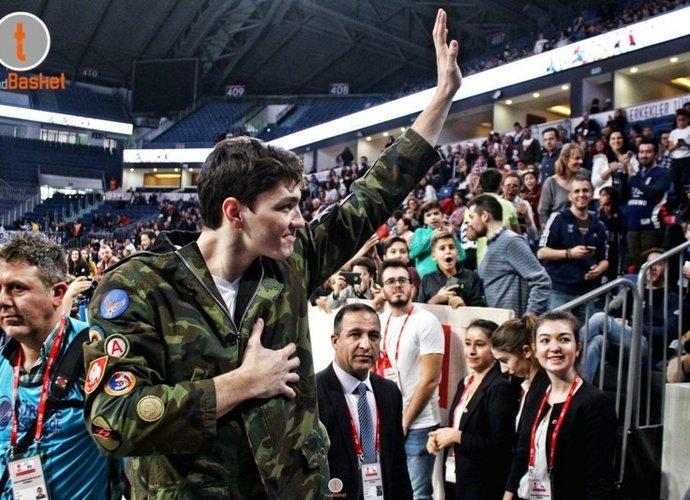 C.Osmanas trumpam grįžo į Turkiją (Organizatorių nuotr.)