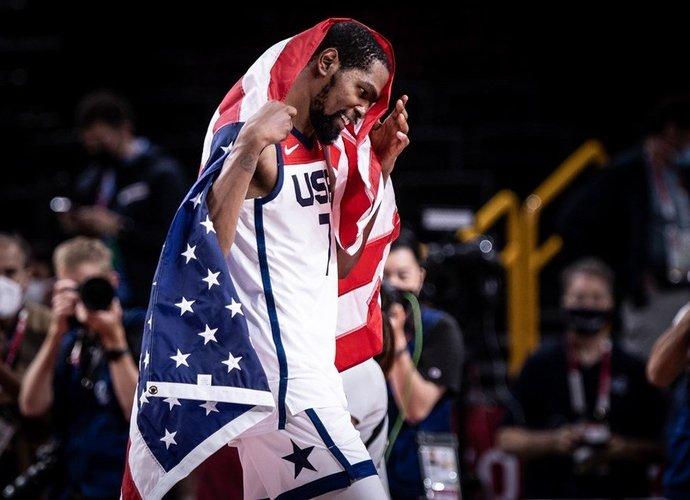 K.Durantas finale pelnė 29 taškus ir atvedė komandą į pergalę (FIBA nuotr.)