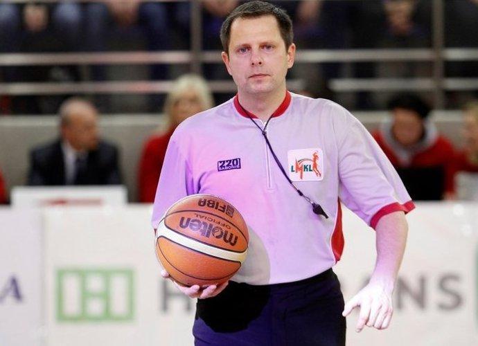 J.Laurinavičius gali nedirbti Europos čempionate