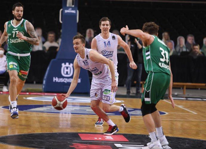 K.Giedraitis pasakojo apie komandos žaidimą (BNS nuotr.)