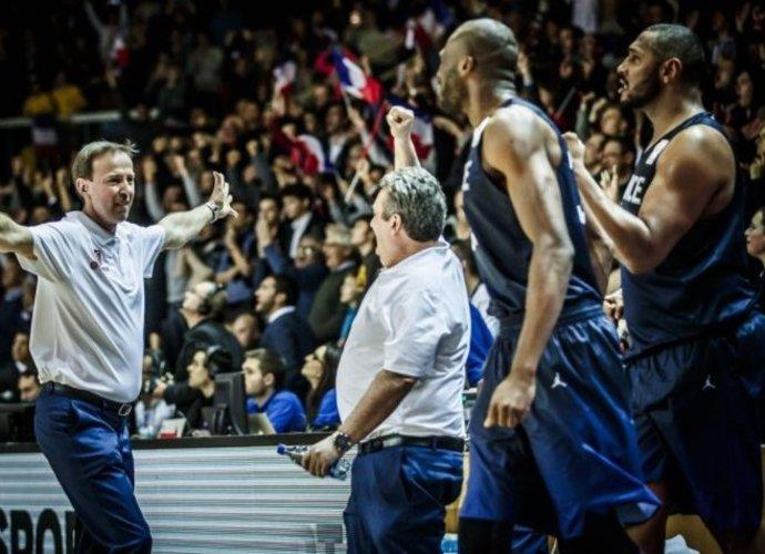 Prancūzai tik per plauką apgynė namų tvirtovę (FIBA Europe nuotr.)