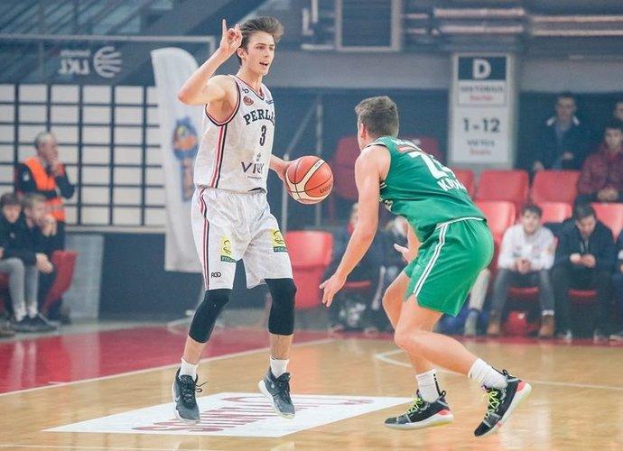 A.Marčiulionis šiame NKL sezone surinko trigubą dublį (Fotodiena.lt nuotr.)