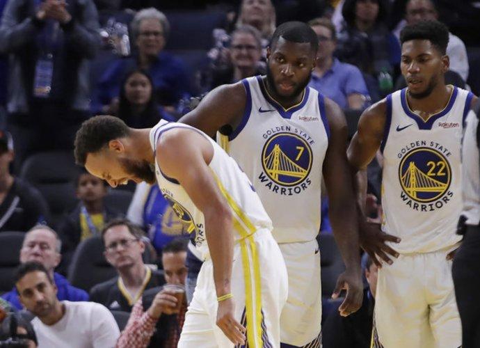 S.Curry šiame sezone greičiausiai nežais (Scanpix nuotr.)