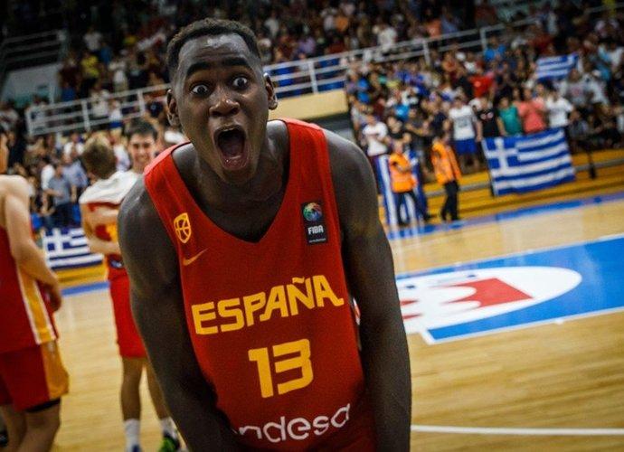 U.Garuba siautė prieš Graikiją (FIBA Europe nuotr.)