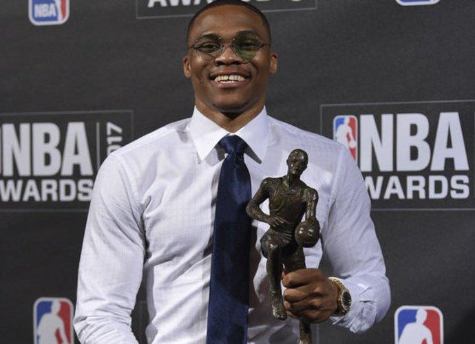 R.Westbrookas laikomas favoritu pakartoti praėjusių metų sėkmę (Scanpix nuotr.)